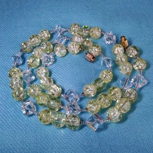 """Summer Bead Necklace, 21 1/2"""""""